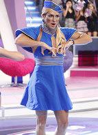 Britney Spears, no clipe de <i>Toxic</i>