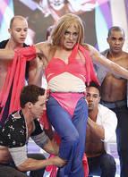 Britney Spears no clipe da canção<i>I'm A Slave 4 U</i>