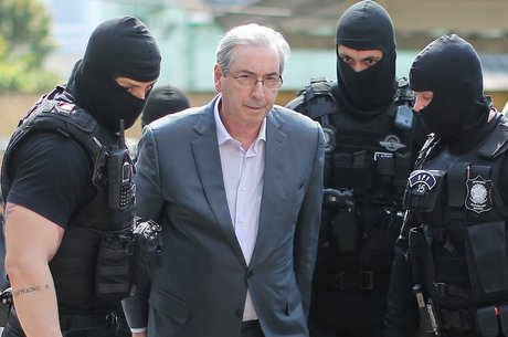 Eduardo Cunha foi preso preventivamente em ação penal na qual é acusado de receber R$ 5 milhões