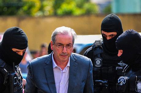 Eduardo Cunha está preso desde outubro de 2016