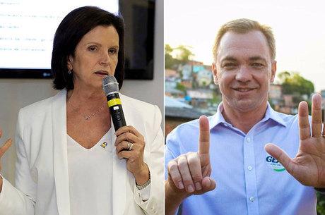 Loureiro (PMDB) tem pequena vantagem sobre Angela Amin (PP)