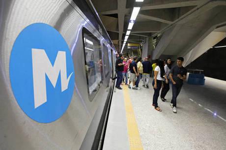 Obras da estação Gávea estão paralisadas desde 2016