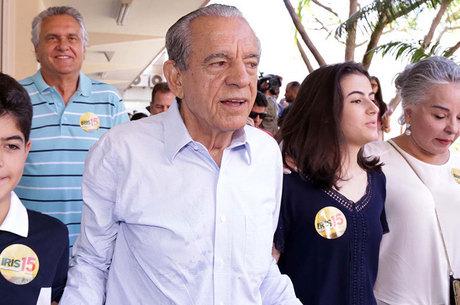 Íris Rezende (PMDB) conquistou maioria dos votos e foi eleito