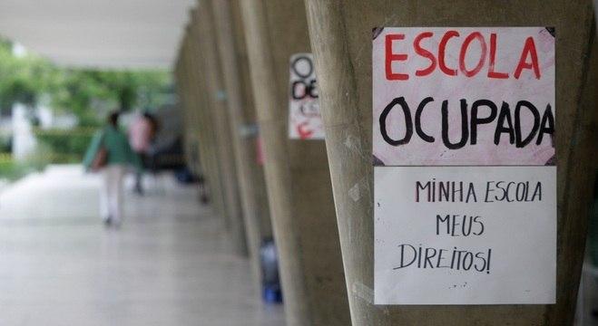 Alunos ocupam o Colégio Estadual Central em Belo Horizonte (MG)