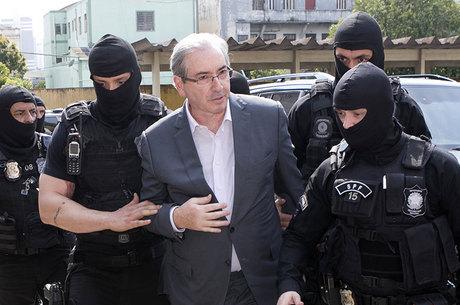 Eduardo Cunha está preso desde o dia 19 de setembro