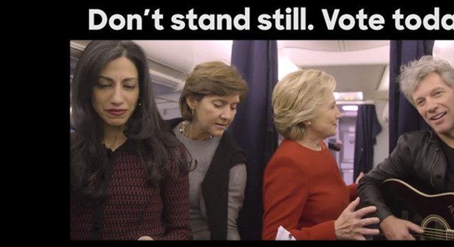 A gente tem que admitir que se a corrida fosse pelo melhor uso de meme, a Hillary já teria ganho com esse!