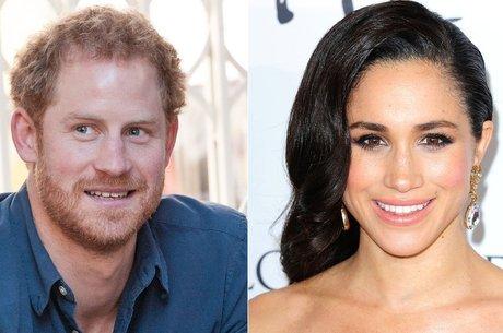 Principe Harry e a atriz Meghan Markle