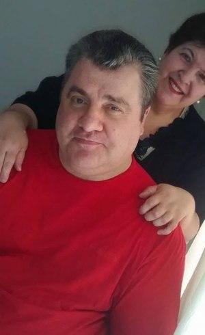 Gerson Brenner e a mulher, Marta Mendonça