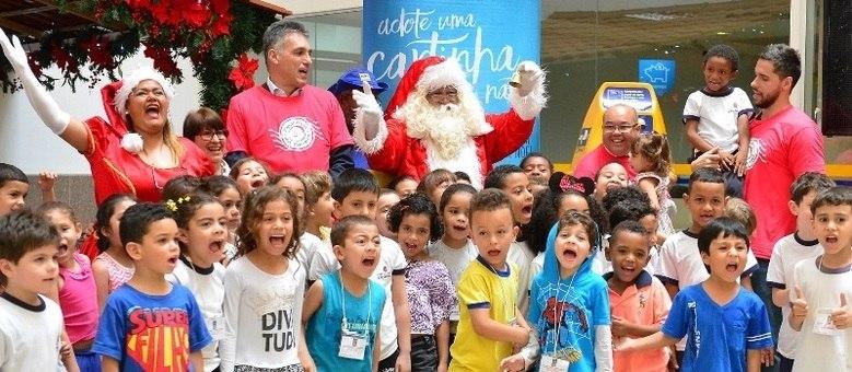 Adoção de cartinhas pela campanha Papai Noel dos Correios pode ser feita até dia 16 de dezembro