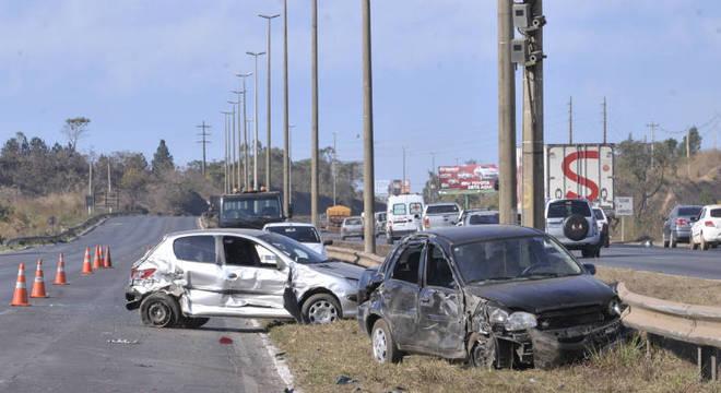 Em 10 anos, quase 500 mil pessoas morreram em acidentes