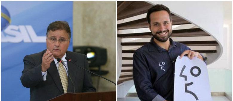 Ministro Geddel (esq) teria pressionado o então ministro da cultura Marcelo Calero para liberar obra em Salvador