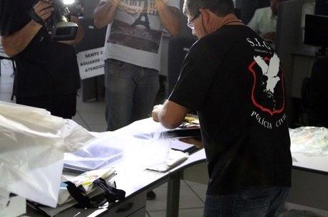 Material apreendido com advogados em Campinas