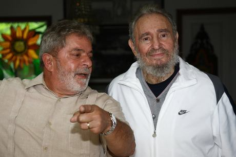 Lula afirmou que Fidel era como um irmão mais velho para ele