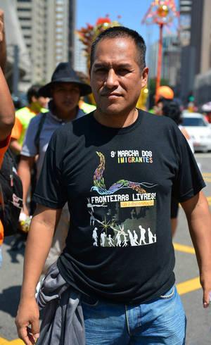 O boliviano Luis Jacinto Cayre