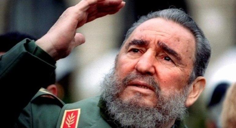 Ex-líder cubando Fidel Castro
