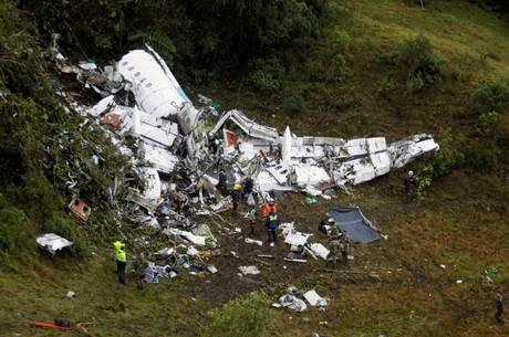 Avião com time da Chape caiu em novembro de 2016