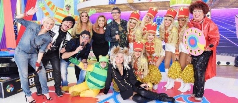 Xuxa se divertiu com Trem da Alegria, Yahoo, Bliz, Rita Cadillac, Sarajane, Sergio Mallandro e Nany People