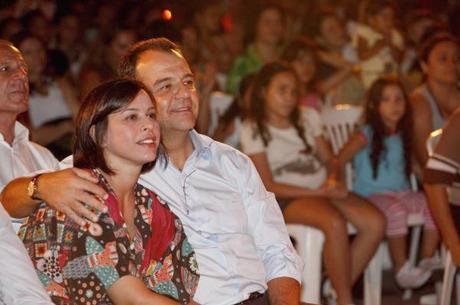 Adriana Ancelmo e Sérgio Cabral estão presos no Complexo de Bangu