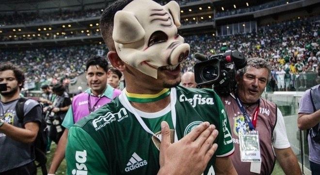 73c10e0214176 Gabriel Jesus foi um dos principais jogadores do Palmeiras no Campeonato  Brasileiro 2016