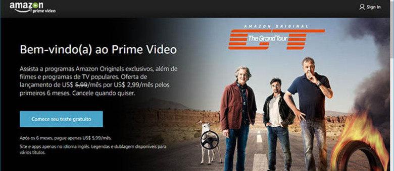 Amazon Prime Video já está disponível no Brasil