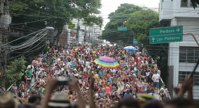 Fica proibido durante o carnaval estacionar em vias de Pinheiros e Vila Madalena