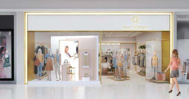 ... Com área entre 55m² a 70m², as três lojas terão, além das peças da  Ana  Hickmann ... 810f45943e