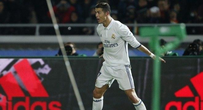 Cristiano Ronaldo foi decisivo na vitória contra o Kashima Antlers