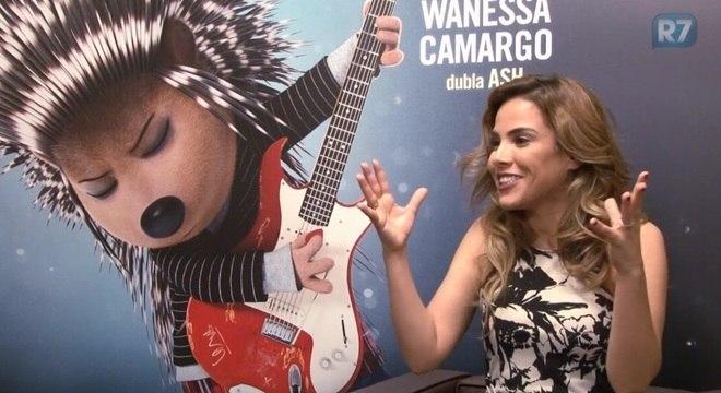 Wanessa Camargo dubla a porco-espinho Ash na animação Sing