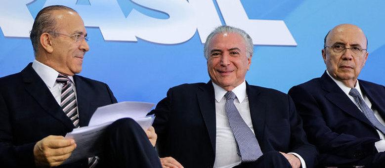 Temer e equipe econômica anunciaram pacotão para o trabalhador e classe média nesta quinta-feira (22) em Brasília