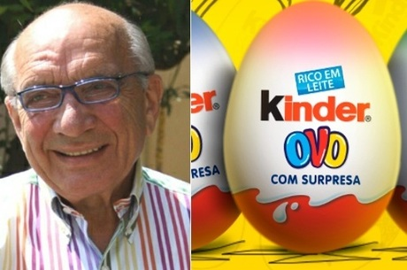 William Salice é o criador do Kinder Ovo