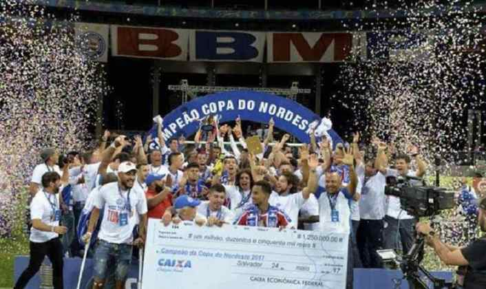 2017: Campeão - Bahia / Vice: Sport