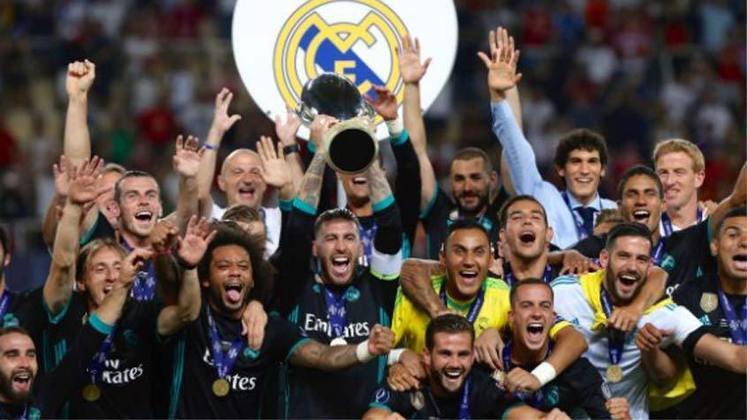 2017 - Em uma final disputada o Real Madrid superou o Manchester United por 2 a 1.