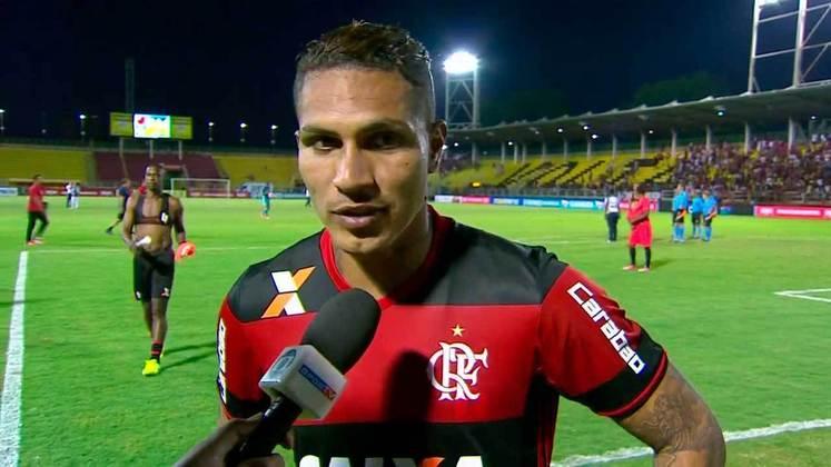 2017 - Questionado sobre o favoritismo na semifinal da Taça Guanabara, Guerrero cutucou: