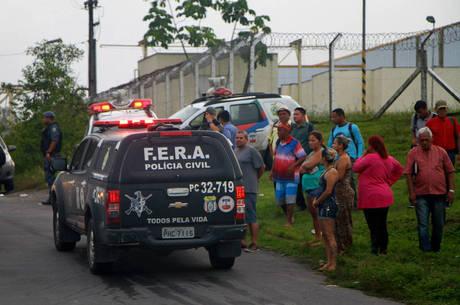 O Compaj, em Manaus, onde 56 presos morreram no último dia 2