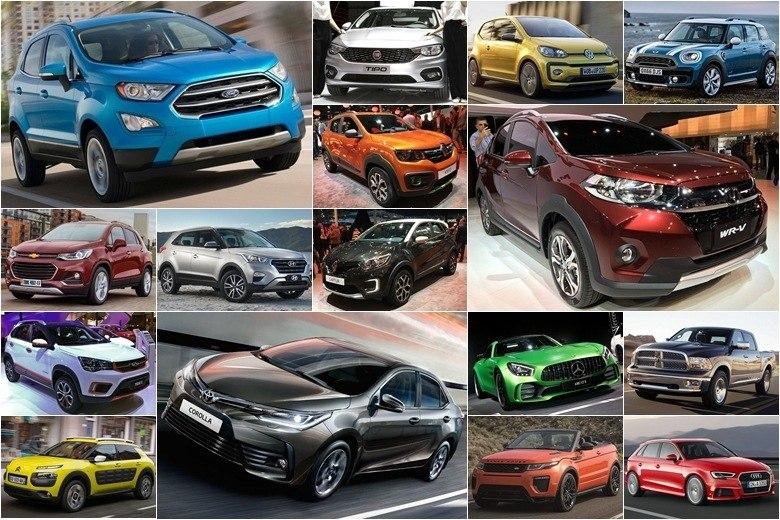 Veja os carros que serão lançados no Brasil em 2017 Fotos