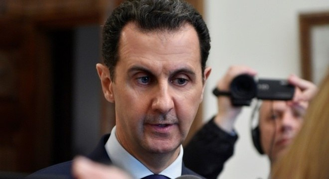 O presidente da Síria Bashar al-Assad não poderá acessar sistema financeiro