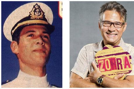 Nelson Freitas na época que integrava a Marinha Mercante
