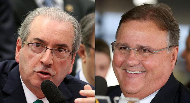 Eduardo Cunha e Geddel Vieira Lima são investigados pela Polícia Federal por esquema na Caixa