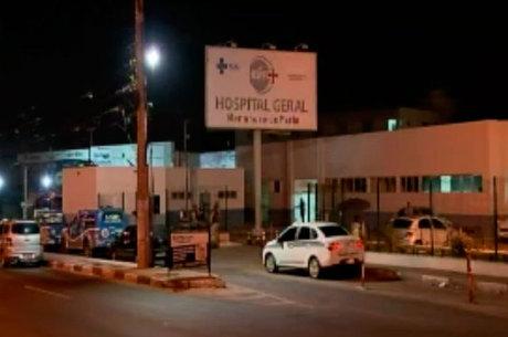 Vítima foi levada ao Hospital Menandro de Farias