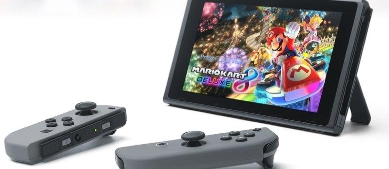 Nintendo Switch será lançado oficialmente no dia 3 de março