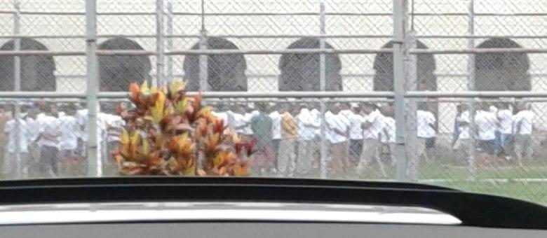 A penitenciária do interior paulista tem capacidade para 1.124 internos, mas estava com 1.427 presos