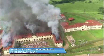 Fumaça toma conta de Bauru e causa pânico na cidade