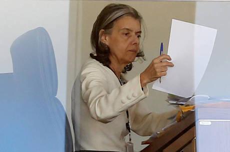 Cármen Lúcia validou ontem as delações premiadas da Odebrecht