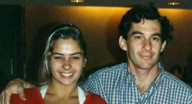 Galisteu e o piloto viveram uma história de amor de aproximadamente 18 meses