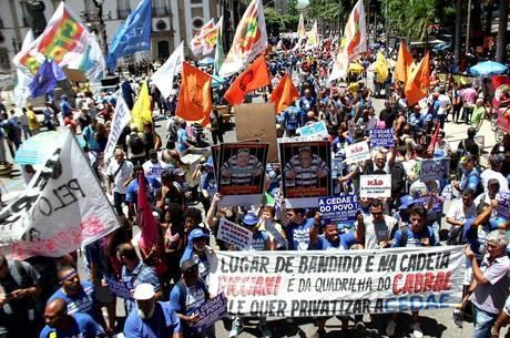 Resultado de imagem para Manifestação Rio 28