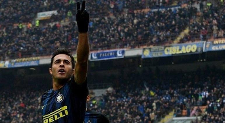 Éder disputou algumas temporadas com a camisa da Inter de Milão