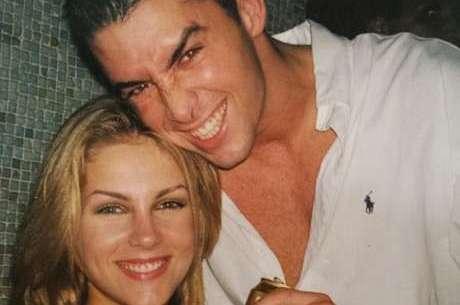 Ana e o marido ainda jovens