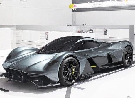 Aston Martin revela mais<br />detalhes de seu novo supercarro