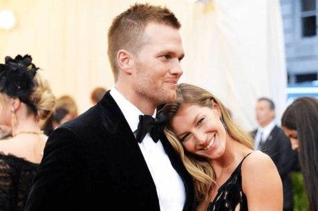 Gisele Bündchen é casada com o jogador  Tom Brady