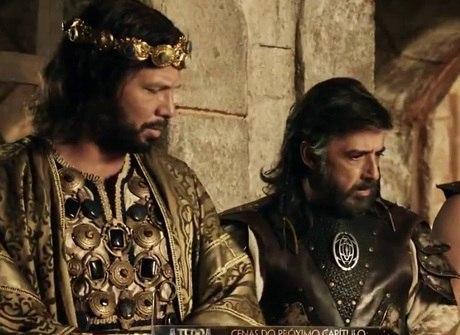 Aruna é presa em Jerusalém e Adonizedeque ordena sua morte